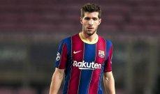 برشلونة على اعتاب تمديد عقد روبرتو حتى 2024
