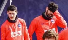 دييغو كوستا وموراتا جاهزان لمواجهة برشلونة
