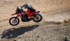 انسحاب متصدر الدراجات النارية كورنيخو من رالي دكار