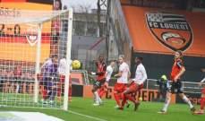 الدوري الفرنسي: لوريان يُسقط  نيم وفوز ستاد بريست وتعادل ستراسبورغ