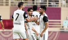 الدوري الاماراتي: فوز صعب للوحدة على الجزيرة