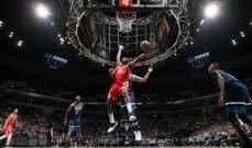 NBA : سقوط متصدر ووصيف المجموعة الشرقية امام اندية المجموعة الغربية