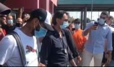 فيديو يظهر لحظة وصول سواريز إلى بيروجيا