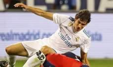 تدريبات ريال مدريد تشهد عودة المدافع الشاب فاييخو