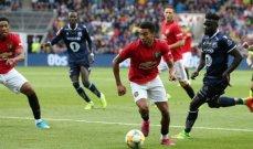 مانشستر يونايتد يفوز وديا على كريستيانسوند النروجي