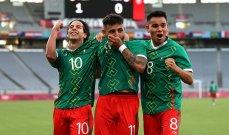 كرة قدم طوكيو 2020: المكسيك تقسو على فرنسا وكوريا تسقط امام نيوزيلاند