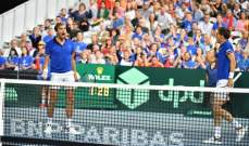 فرنسا في نهائي كاس ديفيس لكرة المضرب