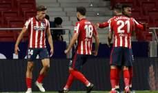 الدوري الاسباني: أتلتيكو مدريد يقلب الطاولة على بلباو ويعزز صدارته