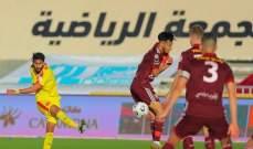 الدوري السعودي: تعادل قاتل للقادسية أمام الفيصلي وفوز الشباب