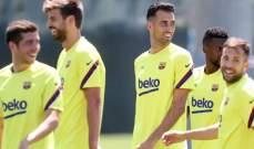 قرارات داخلية لبرشلونة بحق بعض اللاعبين