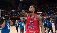 سيسكا موسكو يواجه أناضول إيفيس في نهائي الدوري الأوروبي لكرة السلة