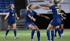 سيدات السويد وكندا لكتابة التاريخ بكرة القدم في طوكيو
