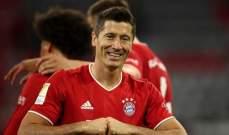 بايرن ميونيخ بطلا للدوري الألماني للمرة التاسعة على التوالي