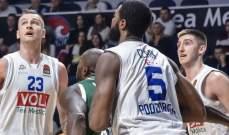 بطولة اليوروليغ في كرة السلة: بودوكنوست يسقط باسكونيا وفوز اولمبيا ميلانو