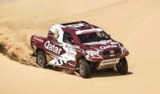 ناصر العطية يستعيد صدارة رالي قطر الصحراوي مع نهاية المرحلة الثالثة