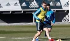 ريال  مدريد يستعيد بايل واسينسيو قبل مواجهة اسبانيول