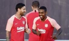 مالكوم يعود إلى صفوف برشلونة بإذن طبي