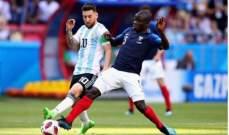 نغولو كانتي يهنئ منتخبه فرنسا