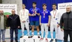 بطولة لبنان في سيف المبارزة : لقب الناشئات لفرنيني والناشئين لبو خليل