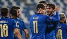 ارقام واحصاءات بعد مباراة ايطاليا وبولندا في دوري امم اوروبا