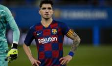 ساسولو يتفاوض مع لاعب برشلونة الشاب