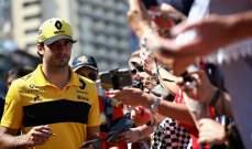 كارلوس ساينز يصف سباقه في موناكو بالكارثي