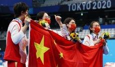 الصين تتصدر الترتيب والمنافسة مشتعلة مع اليابان واميركا وغياب لافت للعرب بعد انتهاء اليوم السادس
