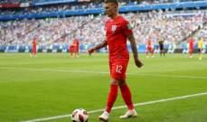 تريبييه : انكلترا في نصف النهائي وهذا انجاز