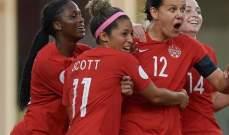 كرة القدم : سيدات كندا واميركا الى أولمبياد طوكيو