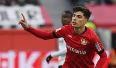 هافيرتز الافضل في الجولة 27 من الدوري الالماني