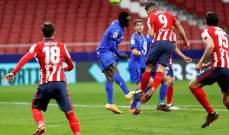 الليغا: اتلتيكو يحسم ديربي مدريد امام خيتافي ويعزز صدارته وفوز سيلتا فيغو