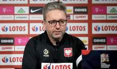 اقالة المدير الفني لمنتخب بولندا