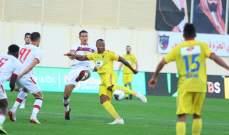 الدوري السعودي: أبها يتخطى الحزم وفوز مثير للرائد على الشباب