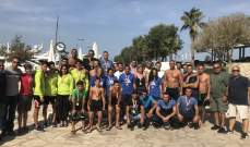 بطولة لبنان للمياه المفتوحة:  النتائج الكاملة لكافة الفئات العمرية