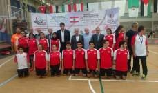 البطولة العربية للبادمنتون تختتم الخميس