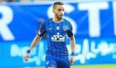 مدافع الهلال محمد البريك الأفضل في ذهاب نهائي دوري الابطال
