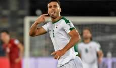 علي عدنان يبارك فوز العراق ويعد الجماهير بالأفضل