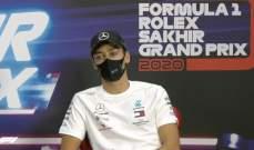 راسل: سأبذل قصارى جهدي في السباق