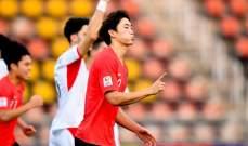 كأس آسيا تحت 23 سنة: الأردن يودّع المنافسة بالخسارة أمام كوريا الجنوبية