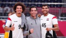 علي زين: استحقينا الفوز على المانيا وسيطرنا على المباراة