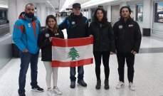 بعثة  السنوبورد تشارك في بطولة الدول الصغرى بليتوانيا