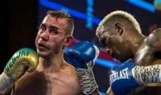 ملاكم روسي يلقى حتفه بعد ضربات تلقاها في الحلبة