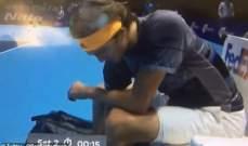 زفيريف ينفي استعماله للهاتف في مباراته مع تيتيباس