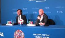 انفانتينو: قطر ستبهر العالم عام 2022 وندين القرصنة ضد beIN SPORTS