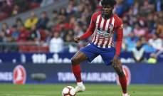 الكشف عن موقف اتلتيكو مدريد من رحيل بارتي