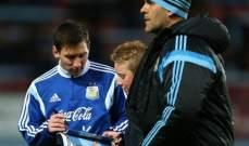 مشجع صغير لنادي ويستهام يجتاح الملعب ليحصل على توقيع ميسي
