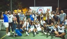 لقب كأس تحدي الضيع بكرة السلة لدرعون - حريصا