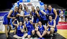 بنك لبنان والمهجر بطل دورة الشركات والمصارف للسيدات في كرة السلة