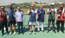 """رماية: ألان موسى بطل المرحلة الأولى من بطولة لبنان للتراب الفئة """"أ"""" ممتاز"""