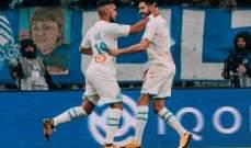 الليغ 1: مارسيليا يضيع فوزا سهلا ويكتفي بالتعادل امام اميان
